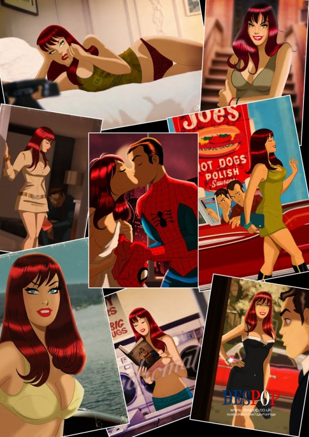 mary jane collage