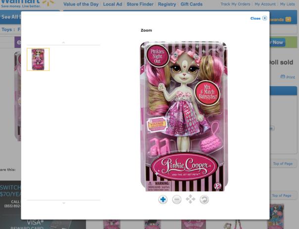 "Creepy ""Furry"" Doll"